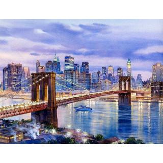 """Алмазная мозаика """"Бруклин"""""""