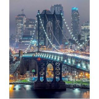 "Алмазная мозаика ""Бруклинский мост"""