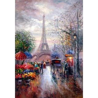 "Алмазная мозаика ""Центр Парижа"""