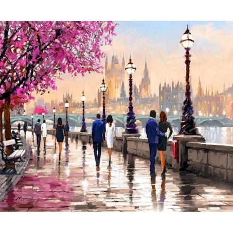 """Алмазная мозаика """"Романтичный Лондон"""""""