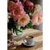 """Алмазная мозаика """"Утренний чай"""""""