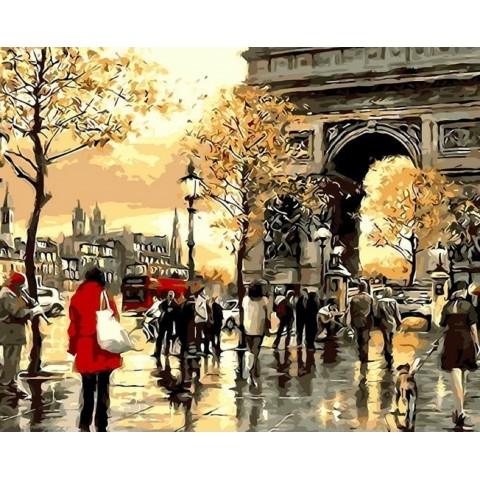 """Алмазная мозаика """"Вечерний Лондон"""""""