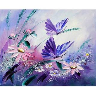 """Алмазная мозаика """"Полет бабочек"""""""