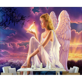 """Алмазная мозаика """"Ангел"""""""