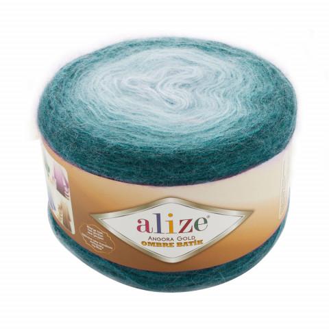 Angora Gold Ombre batik , 20% шерсть 80% акрил