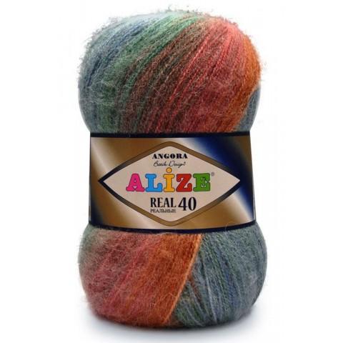 Angora Real 40 Batik ( Ангора реал 40 батик) , 40% шерсть 60% акрил