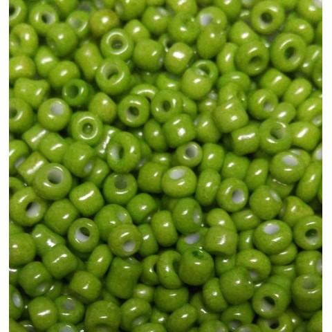 Бисер Китай, светло - зеленый матовый