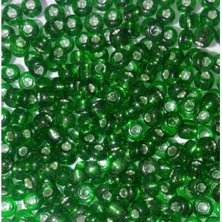 Бисер Китай, зеленый блеск