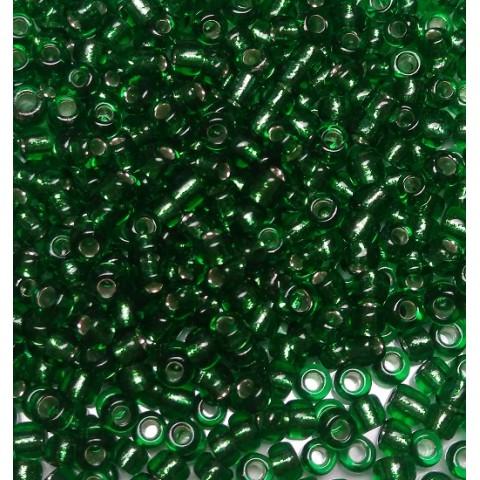 Бисер Китай, зеленый огонёк