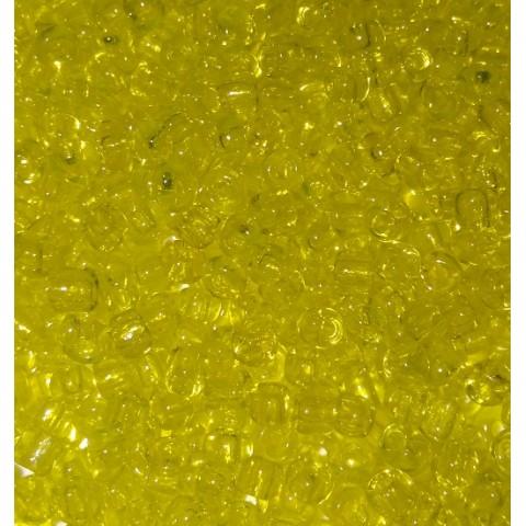 Бисер Китай, желтый прозрачный