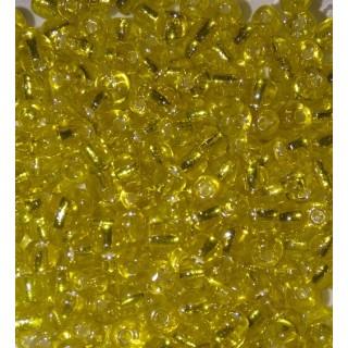 Бисер Китай, желтый блеск