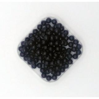 Бусины жемчуг черный 6 мм