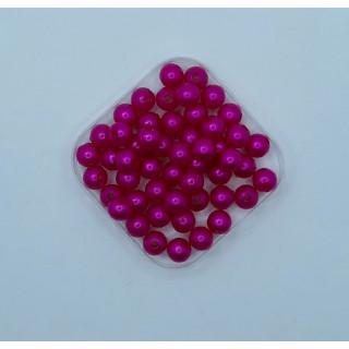 Бусины жемчуг ярко-розовый 8 мм