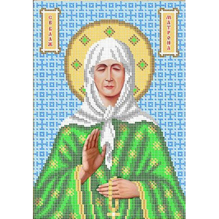 Святая Матрона (ф4, цв)