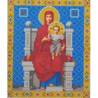Богородица на престоле