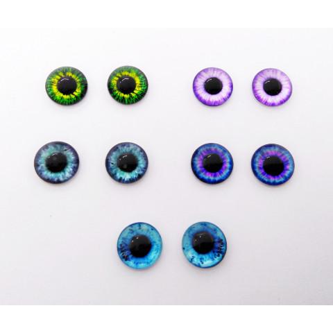 Глазки стекло