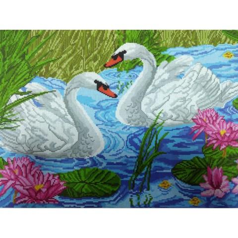 Лебеди и лотос