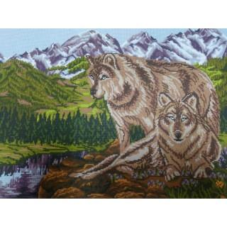 Пара волков (горы)