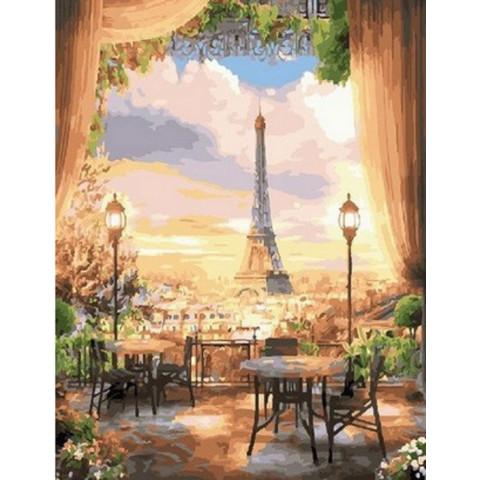 Картина по номерам - Кафе Париж