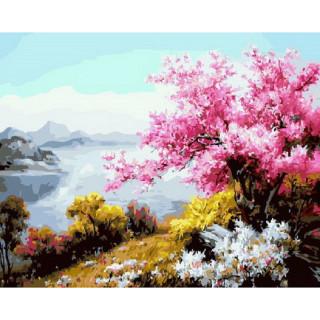 Картина по номерам - Магия весны