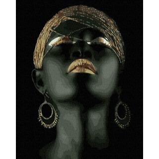 Картина по номерам - Негритянка