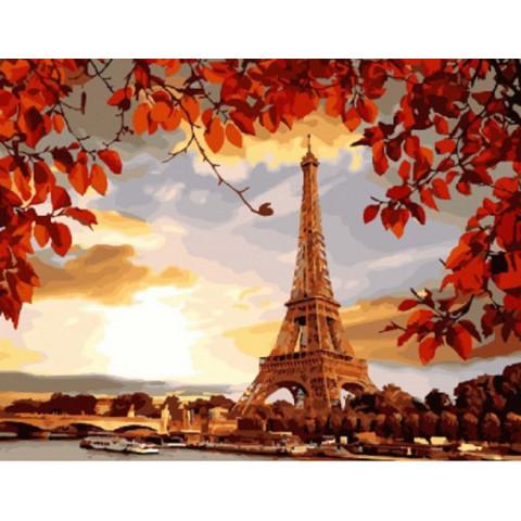 Картина по номерам - Осенний Париж