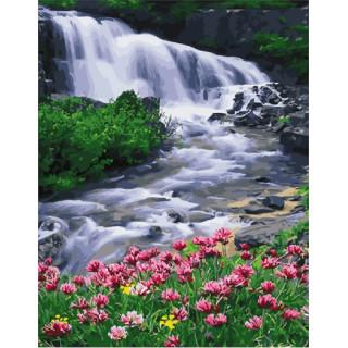 Картина по номерам - Водопад
