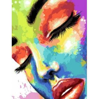 Картина по номерам - Праздник красок