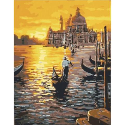 Картина по номерам - Венецианский закат