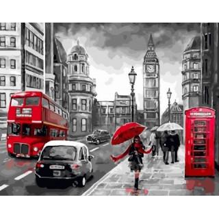 Картина по номерам - Пасмурный Лондон