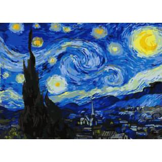 Картина по номерам - Звездная ночь