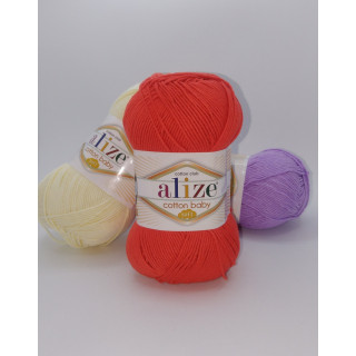 Cotton Baby soft (Коттон беби софт), 50% хлопок 50% акрил