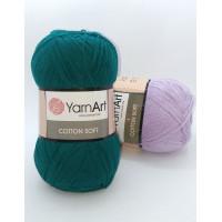 Cotton Soft (Коттон софт), 55% хлопок 45% акрил