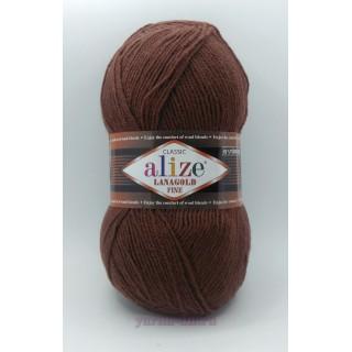 Alize Lanagold Fine (Ланоголд файн), 49% шерсть 51% акрил