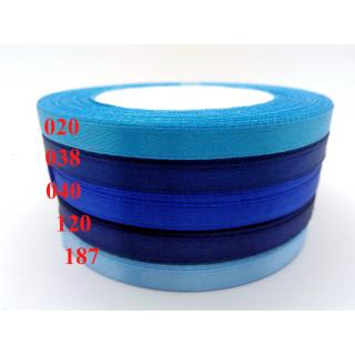 Лента атласная 0,5 см - оттенки синий