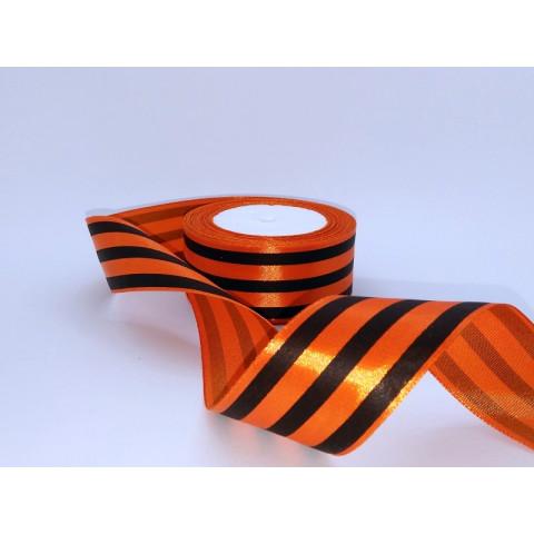 Георгиевская лента атлас 4,0 см