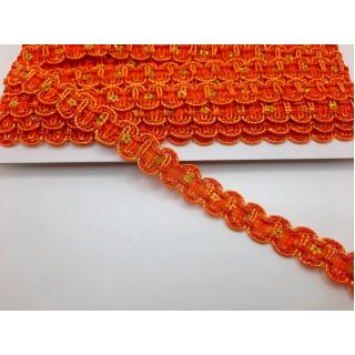 Тесьма оранжевая 1,5 см