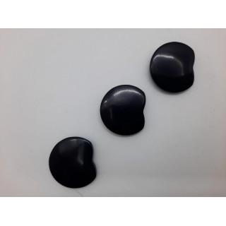 Пуговицы черный 24-а