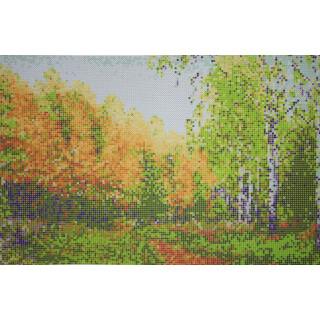 Времена года - осень в лесу