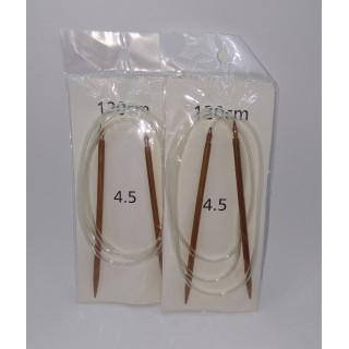 Спицы бамбук круговые на тросе 120 см