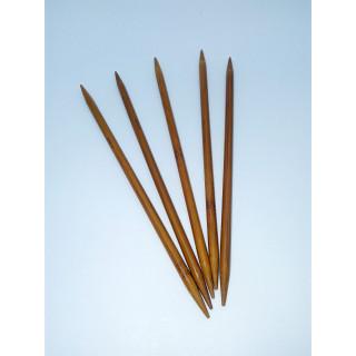 Спицы носочные бамбук 20 см