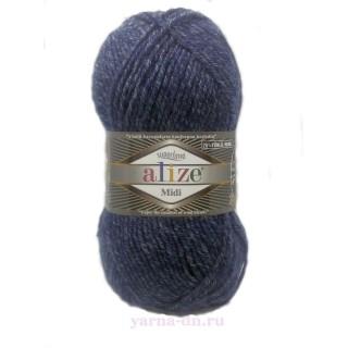 Alize Superlana Midi (Суперлана Миди) , 25% шерсть 75% акрил