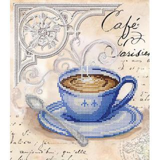 Кофе в Париже (синий)