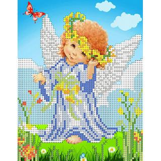 Ангелочек с венком