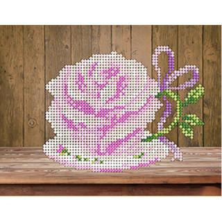 Цветочный сервиз - роза